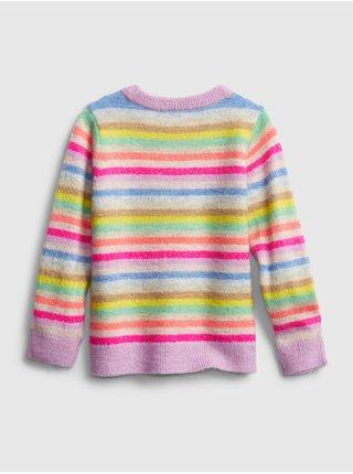 Barevný holčičí svetr GAP