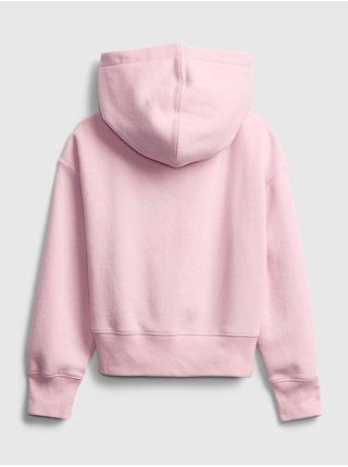 Růžová holčičí mikina GAP