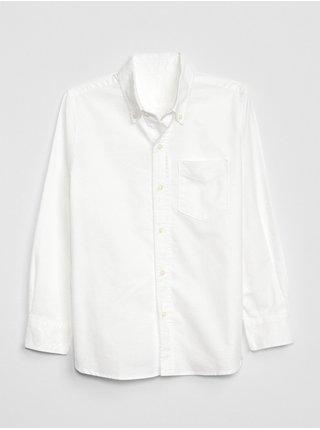 Bílá klučičí košile GAP