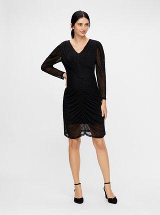 Černé těhotenské šaty Mama.licious