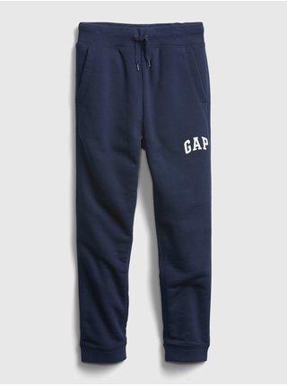 Modré chlapčenské tepláky GAP