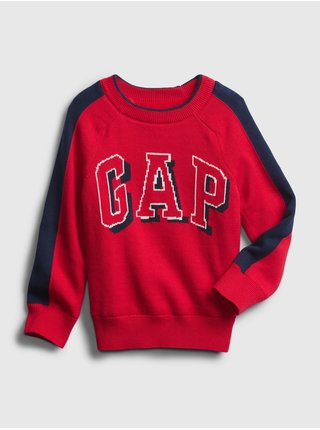 Červená chlapčenská mikina GAP