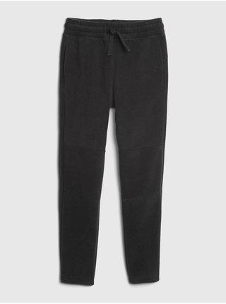 Čierne chlapčenské nohavice GAP