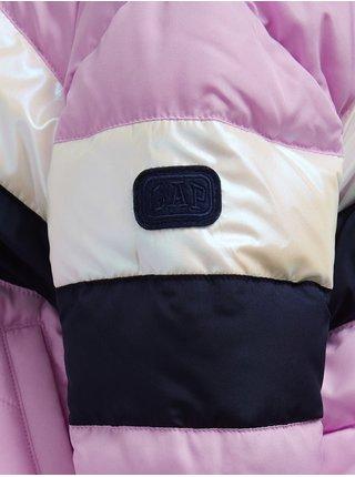 Fialová holčičí bunda GAP