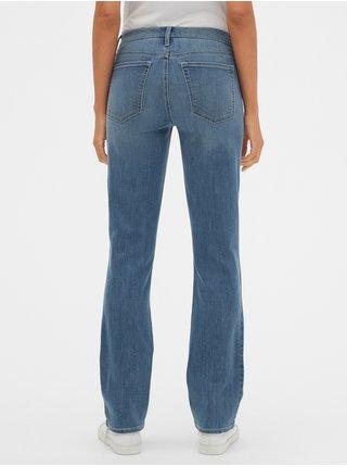 Modré dámské džíny GAP Straight