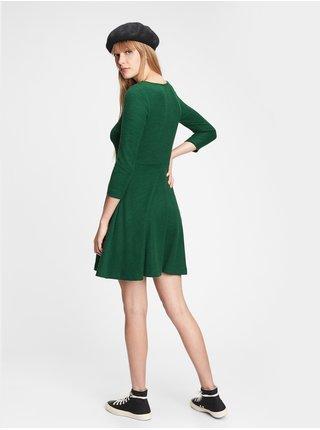 Šaty GAP Zelená