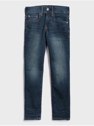 Džínsy GAP Super skinny Modrá