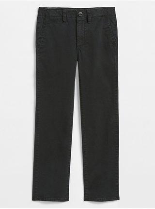 Černé klučičí kalhoty GAP Chino