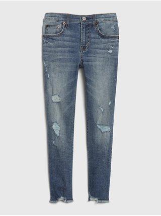 Modré holčičí džíny GAP Slim