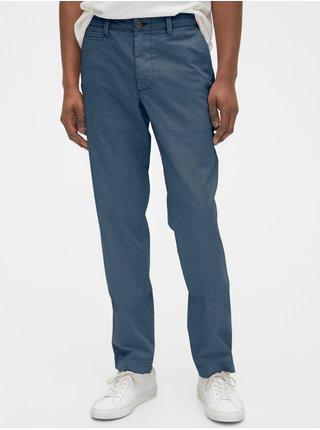 Modré pánske nohavice GAP Slim
