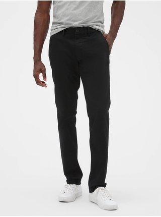 Čierne pánske nohavice GAP Slim Fit