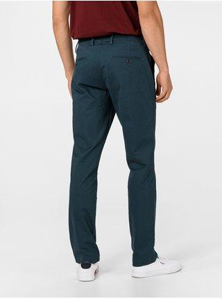Modré pánske nohavice GAP Slim Fit