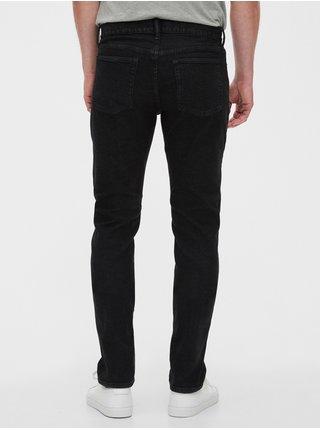 Černé pánské džíny GAP Slim