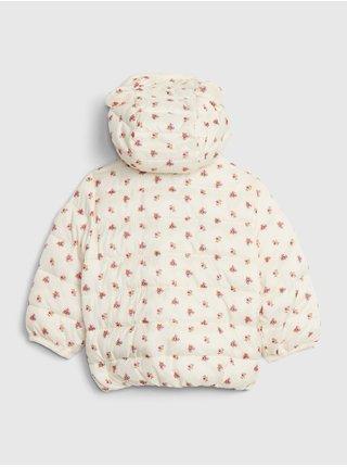 Béžová holčičí bunda GAP