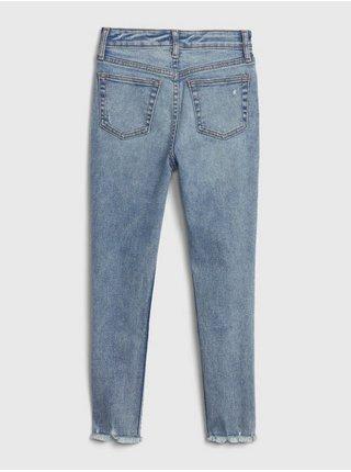 Modré holčičí džíny GAP Skinny