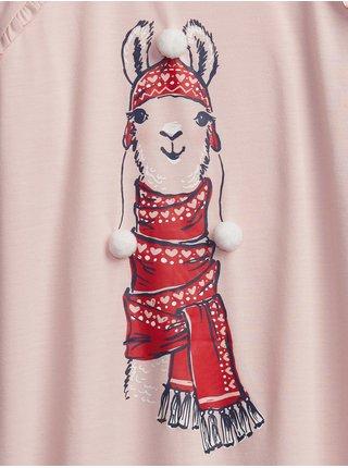 Nočná košeľa GAP Ružová