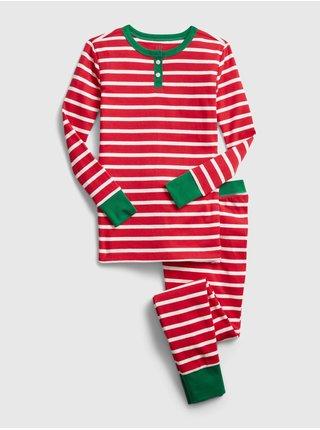Červené holčičí pyžamo GAP