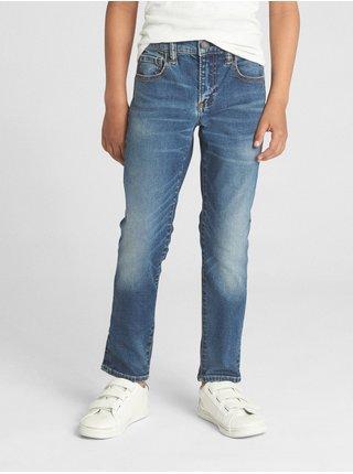 Džínsy GAP Skinny Modrá