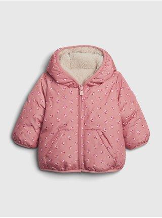 Růžová holčičí bunda GAP