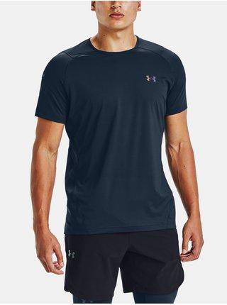 Tmavě modré tričko Under Armour RUSH HG 2.0 SS