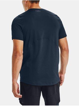 Tmavomodré tričko Under Armour RUSH HG 2.0 SS