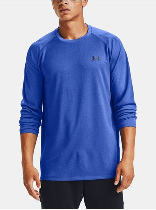 Modré tričko Under Armour Textured LS