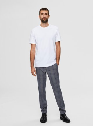 Biele basic tričko Selected Homme