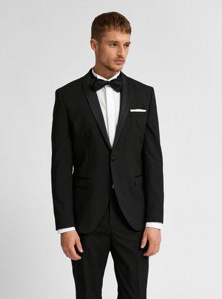 Černé oblekové sako Selected Homme