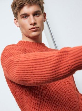 Tehlový sveter Selected Homme
