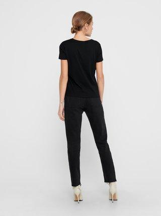 Černé tričko s potiskem Jacqueline de Yong South