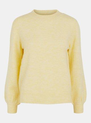 Svetložltý sveter Pieces