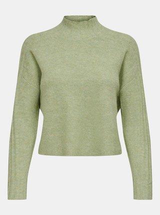 Světle zelený svetr Jacqueline de Yong Kim