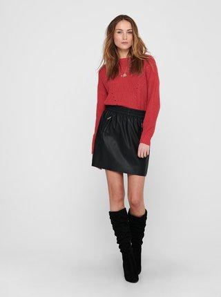 Červený sveter Jacqueline de Yong Shiny