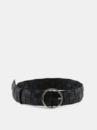 Černý široký pásek Pieces