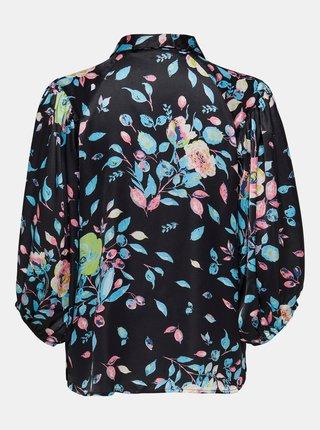 Čierna vzorovaná košeľa Jacqueline de Yong Juliette