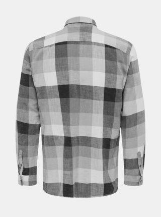 Pánska kockovaná košeľa ONLY & SONS