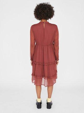 Hnedé šaty Noisy May Ena