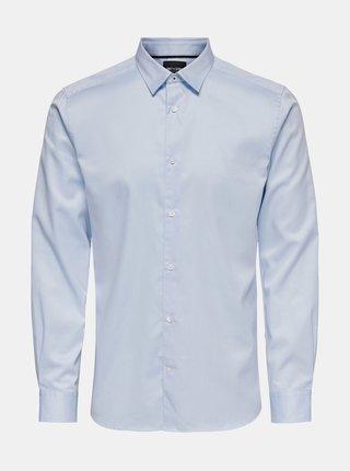 Modrá košeľa ONLY & SONS Cafu