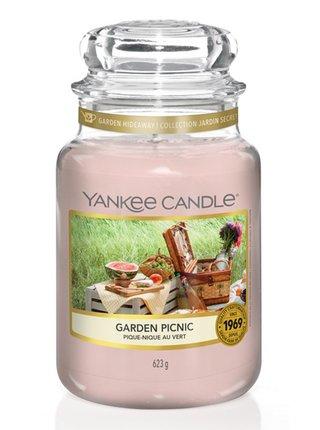 Yankee Candle vonná svíčka Garden Picnic Classic velký