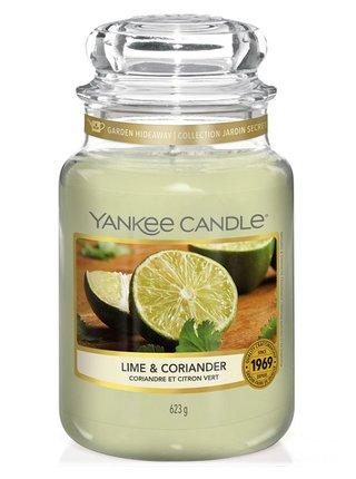Yankee Candle vonná svíčka Lime&Coriander Classic velký