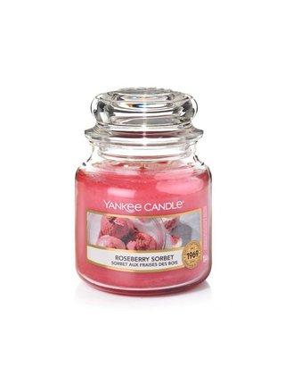 Yankee Candle vonná svíčka Roseberry Sorbet Classic malý