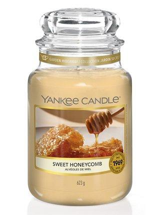 Yankee Candle vonná svíčka Sweet Honeycomb Classic velký
