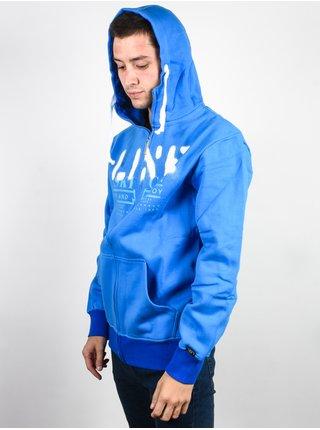 Line Original blue pánská mikiny na zip - modrá