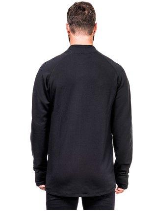 Horsefeathers MORRIS  black pánská mikiny na zip - černá