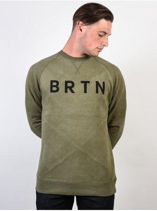 Burton BRTN DUSTY OLIVE mikiny přes hlavu pánská - zelená