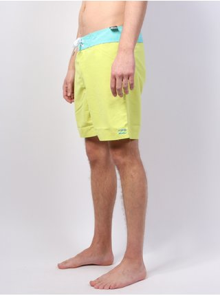 Billabong ALL DAY  OG CUT 17 NEO LIME pánské kraťasové plavky - žlutá