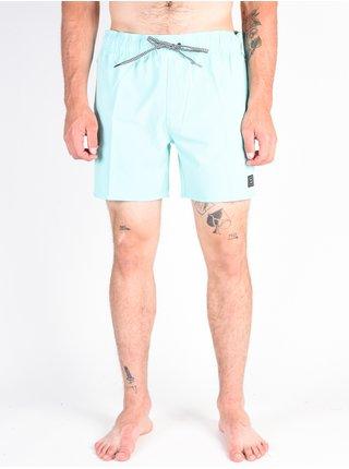 Volcom Case Stoney 16 Pale Aqua pánské kraťasové plavky - modrá