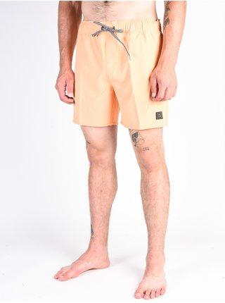 Volcom Case Stoney 16 Summer Orange pánské kraťasové plavky - oranžová