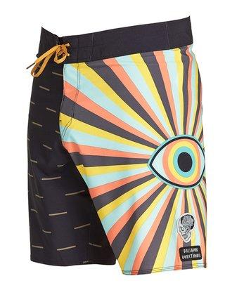 Billabong VIPER PRO black pánské kraťasové plavky - černá