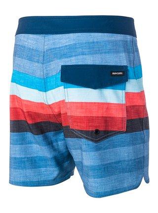 Rip Curl RETRO HEY MAMA 16 blue pánské kraťasové plavky - modrá